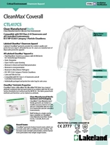 Cleanmax ctl417cs data sheet