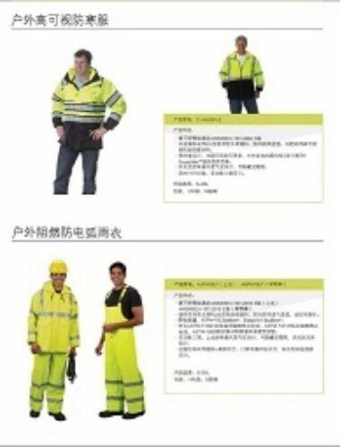 Hi Vis Rainwear Data Sheet