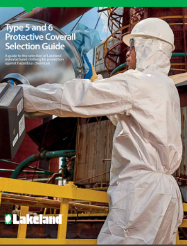 Type5 6 Protective Coverall Selection Guide