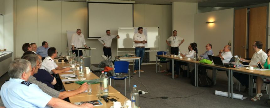 A Break Out Team Present Their Conclusions