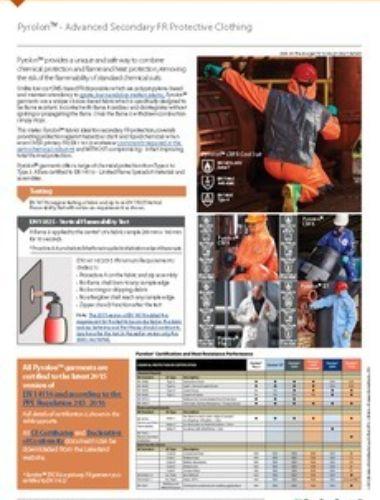 Pyrolon Range Guide Thumbnail
