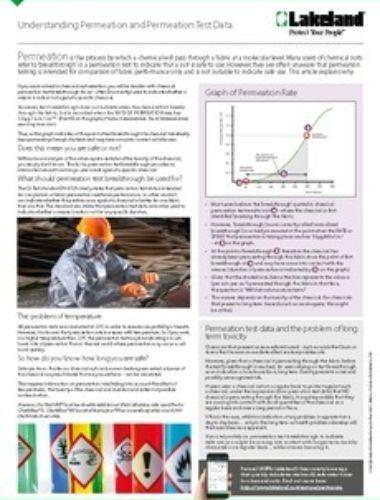 Understanding Permeation Fact Sheet Thumbnail