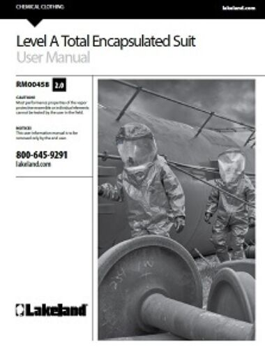 Level A Total Encapsulated Suit User Manual