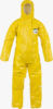 ChemMax® 4 Coverall with elasticated hood, cuffs, waist & ankles - CT4 SY428 PS