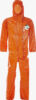 ChemMax® 3 Coverall with double zip & storm flap and elasticated hood, cuffs, waist and ankles - CT3 S428 O